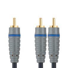 Bandridge BAL-4102. Cable para Subwoofer de 2 metros de longitud. Cables dedicados a las áreas de audio, video y computación.