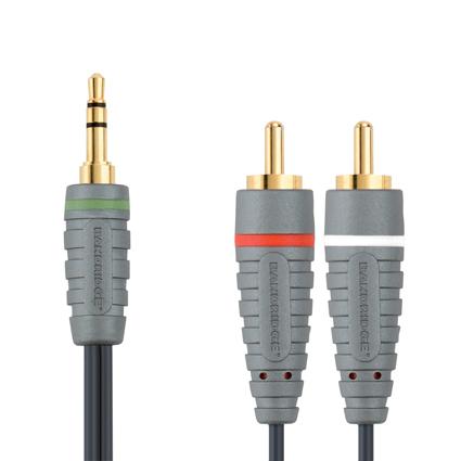 Bandridge BAL-3402. Cable de Audio Portable de 2 metros de longitud. Cables dedicados a las áreas de audio, video y computación.