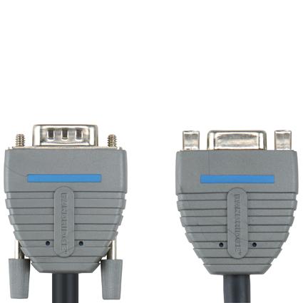 Bandridge BCL-1002. Cable Extensión VGA de 2 metros de longitud. Cables dedicados a las áreas de audio, video y computación.