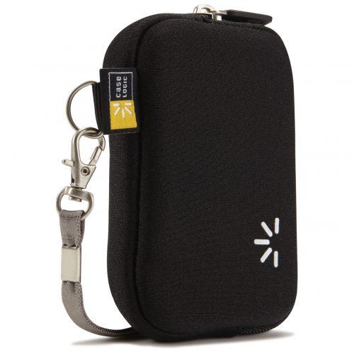 Case Logic UNZB-2NE bolso cámara digital negra.