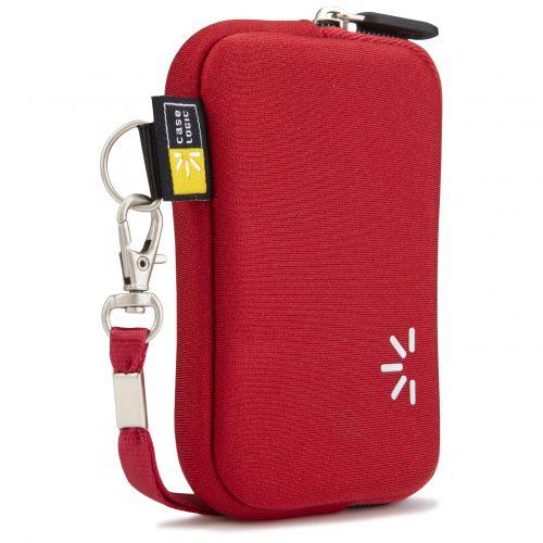 Case Logic UNZB-2RO bolso rojo para cámara digital.