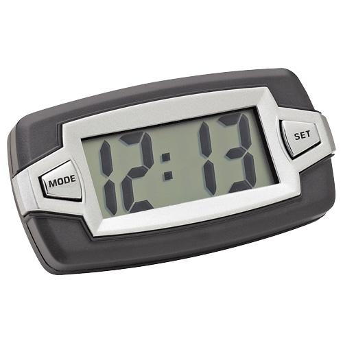 Bell Auto Parts 37007-8. Reloj con Esfera Jumbo posee una pantalla amplia de 5cm de largo la cual cuenta con grandes dígitos para la lectura fácil.