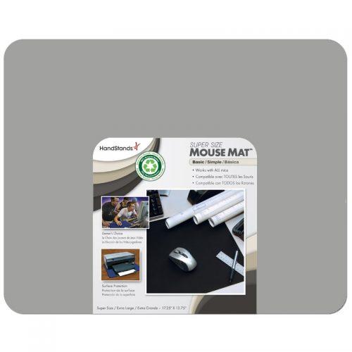 Handstands 15501GR. Super Mouse Mat para usar en escritorios para una mayor comodidad en el movimiento de tu mouse. Ideal para gamers y estudios de diseño.