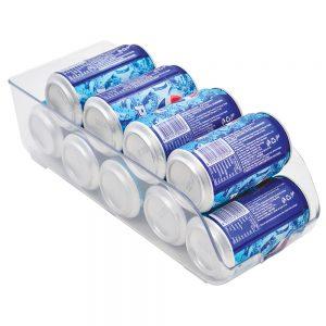Frigidaire FGD29515 organizador para latas de cervezaal interior de refrigerador.