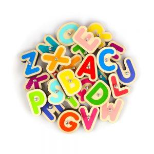 Marbotic juego tecnológico educacional, set 26 letras o Smart Letters