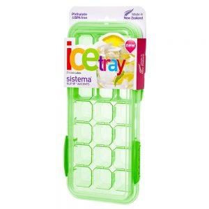 Sistema 61448VE. Contenedor plástico, libre de BPA para hielo 21 cubos línea Klip it