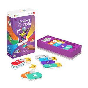 OSMO Coding Jam, juego tecnológico. Set de codificación musical, aprende a codificar con piezas magnéticas, bases de bajo, percusión y melodías.