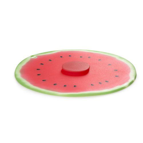 Tapa de Silicona Sandia. CHARLES VIANCIN, diseño de accesorios para cocina inspirados en la naturaleza. Modelos fabricados en silicona no plástica, de material natural y flexible lo que permite crear productos multifuncionales para tu cocina.