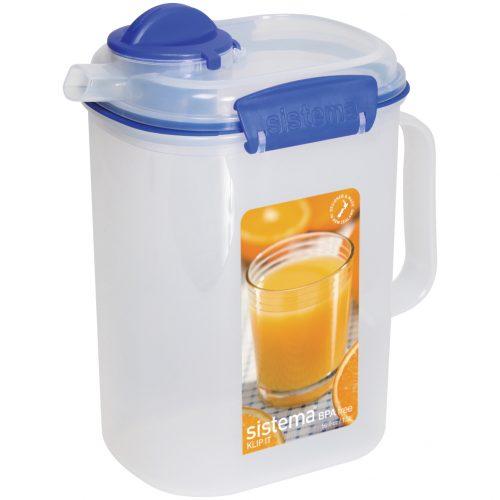 Sistema 1415. Jarro de 1,5 litros de capacidad. Producto libre de BPA, libre de plomo y además fabricado con polipropileno virgen.