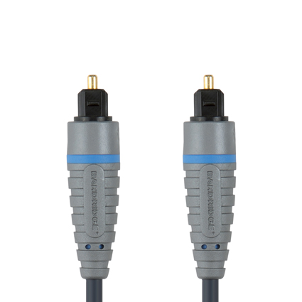 Bandridge BAL-5602. Cable Digital de Audio Óptico de 2 metros de longitud. Cables dedicados a las áreas de audio, video y computación.