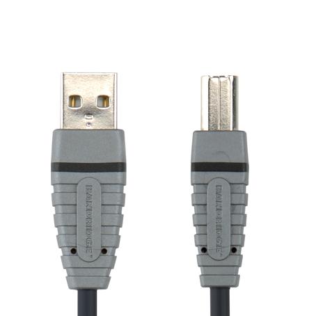 Bandridge BCL-4102. Cable para Dispositivo USB de 2 metros de longitud. Cables dedicados a las áreas de audio, video y computación.
