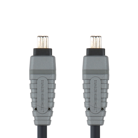 Bandridge BCL-6102. Cable Firewire 4-pin de 2 metros de longitud. Cables dedicados a las áreas de audio, video y computación.