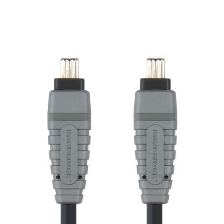 Bandridge BCL-6102. Cable Firewire 4-pin de 2 metros de longitud. Cables dedicados a las áreas de audio, video y computación.