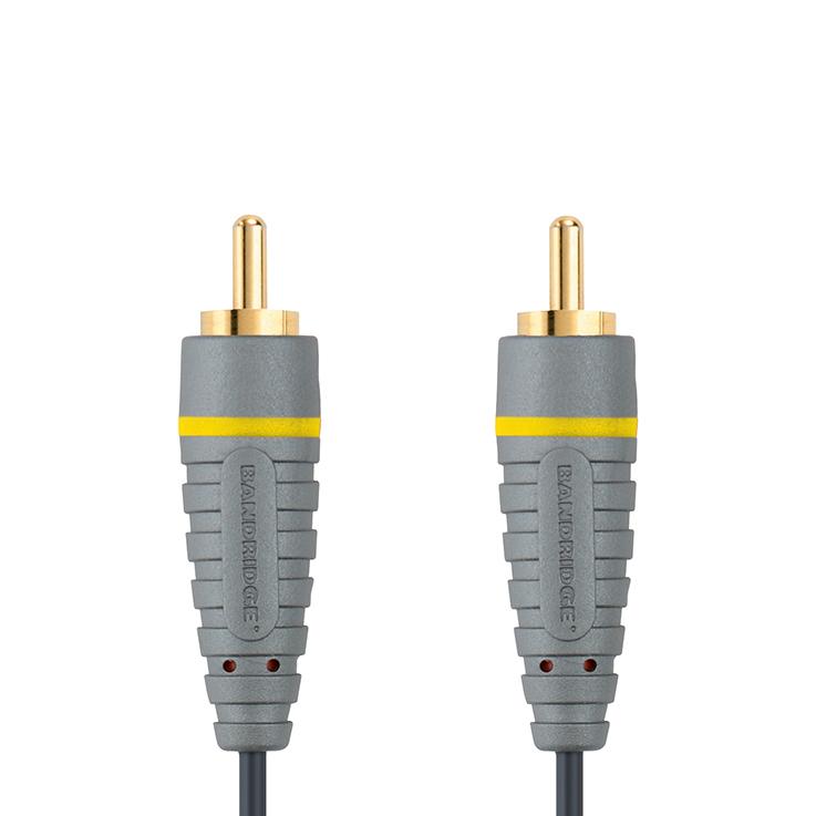 Bandridge BVL-5002. Cable de Video Compuesto de 2 metros de largo. Cables dedicados a las áreas de audio, video y computación.