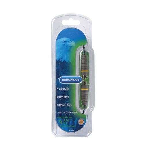 Bandridge BVL-6602. Cable de Super-Video de 2 metros de largo. Cables dedicados a las áreas de audio, video y computación.