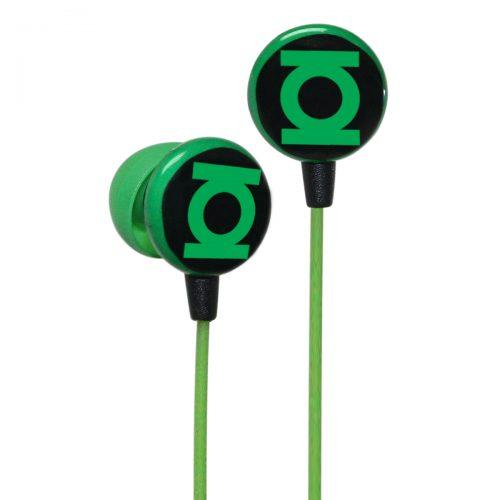 iHip Linterna Verde. Audífonos modelo DCF10163GL Se acomodan fácilmente en la oreja y poseen excelente reducción de ruido.