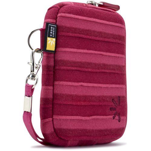 Case Logic UNZT-202RO bolso cámara digital rosado.