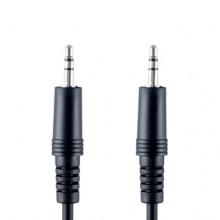 Bandridge VAL-3301. Cable de Audio Portable de un metro de longitud. Cables dedicados a las áreas de audio, video y computación.