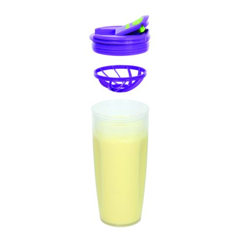 Sistema 21378VE. Contenedor para batidos de 700 ml de capacidad. Producto libre de BPA, libre de plomo, libre de Ftalatos y de color verde.