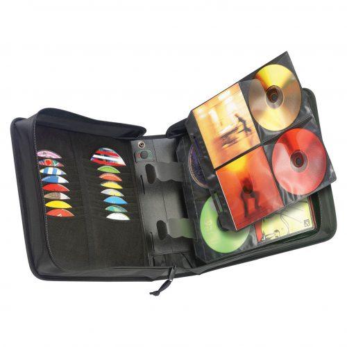 Case Logic CDW-208 bolso para CD negro.