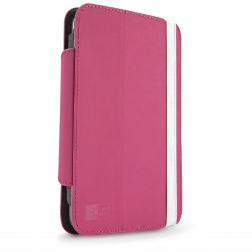 "Case Logic SFOL-107RO funda para tablets de hasta 7"" rosada."