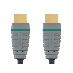 imagen principal Bandridge BVL-1201. Cable HDMI de Alta Velocidad  3D Versión 1.4 Ethernet 1 metro