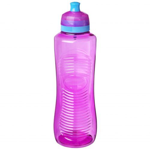 Sistema 850MA. Botella de agua de 800 ml de capacidad. Producto libre de BPA, libre de plomo, libre de Ftalatos y de color magenta.