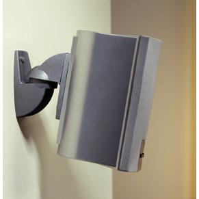 Vogel´s VLB-50. Soporte universal para parlantes de audio home cinema. Instalación a muro de muy fácil manera. Color plata.
