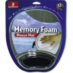 Handstands 59107. Mouse mat de gel memoria, con pad para muñeca alconchado, ideal para usar con mouse de PC, notebooks y tablets con teclado inalámbrico.