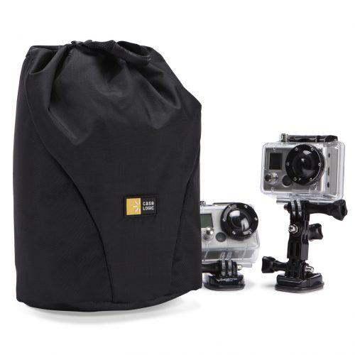 Case Logic DSA-101 bolso para cámaras de acción negro.
