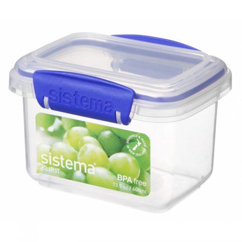 Sistema 1540. Contenedor de 400 ml de capacidad. Producto libre de BPA, libre de plomo y además fabricado con polipropileno virgen.