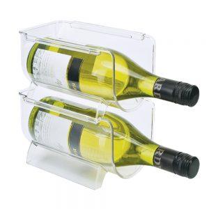 Frigidaire FGD29546 organizador para botellas de vino para refrigerador.