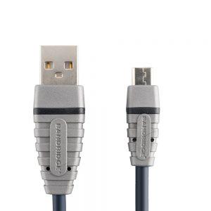 Bandridge BCL-4902. Cable USB a Micro USB. Dentro de su amplia gama de productos podemos encontrar cables dedicados a áreas de audio, video y computación.