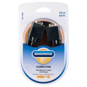 Bandridge VCL-1002. Cable Extensión VGA . Dentro de su amplia gama de productos podemos encontrar cables dedicados a las áreas de audio, video y computación.