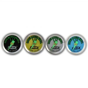 Man-Law MAN-T343BBQ. Set de 4 medidores de colores diferentes para personalizar tus cortes. Medidores y punteros fluorescentes para visibilidad nocturna.