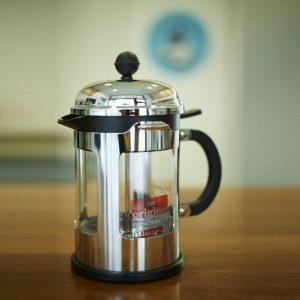 Bodum cafetera Chambord Lid, plata. Modelo 11171-16