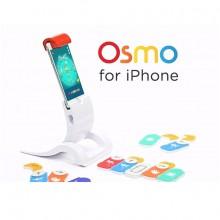 Osmo juego tecnológico educacional presenta esta base para que sus múltiples juegos puedan ser utilizados con el teléfono móvil; iPhone de Apple.