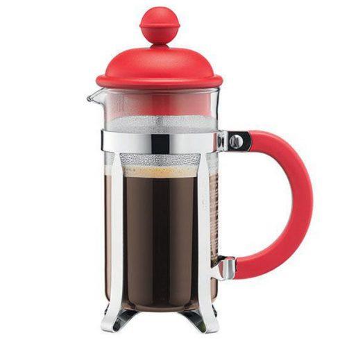 Video detalle de Bodum CAFFETTIERA 350 ml . Cafetera Roja Modelo 1913-945RO