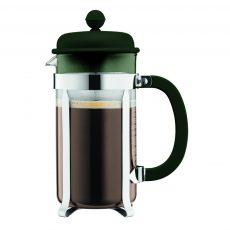 1918_946. Bodum CAFFETTIERA. Simpleza al hacer café es la razón del porque los degustadores de este usan la cafetera de prensa para determinar la calidad del grano.