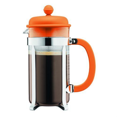 Bodum CAFFETTIERA. Simpleza al hacer café es la razón del porque los degustadores de este usan la cafetera de prensa para determinar la calidad del grano.