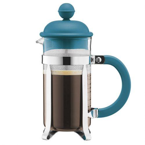 Video detalle de Bodum CAFFETTIERA 350 ml . Cafetera Azul Modelo 1913-945AZ