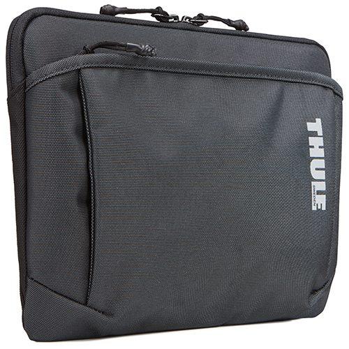 Thule TSS-312. Funda duradera con forro de suave plush para MacBook® de 12 pulgadas. Además espacio para accesorios o un Ipad en compartimiento especial.