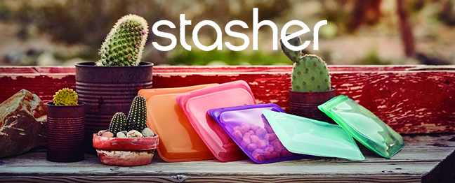 Stasher bag Chile, bolsas de silicona no plástica herméticas para cocinas y almacenar alimentos.