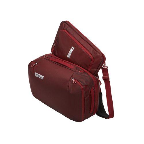 Una maleta de mano versátil y con una estructura semirígida, diseñada para aprovechar el espacio al máximo. Incluye una elegante funda para computadora portátil por separado para un cómodo viaje.