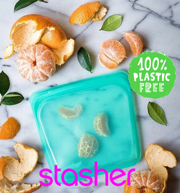 Stasher 450 ML Aqua