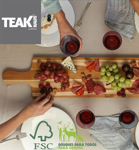 tabla TeakHaus